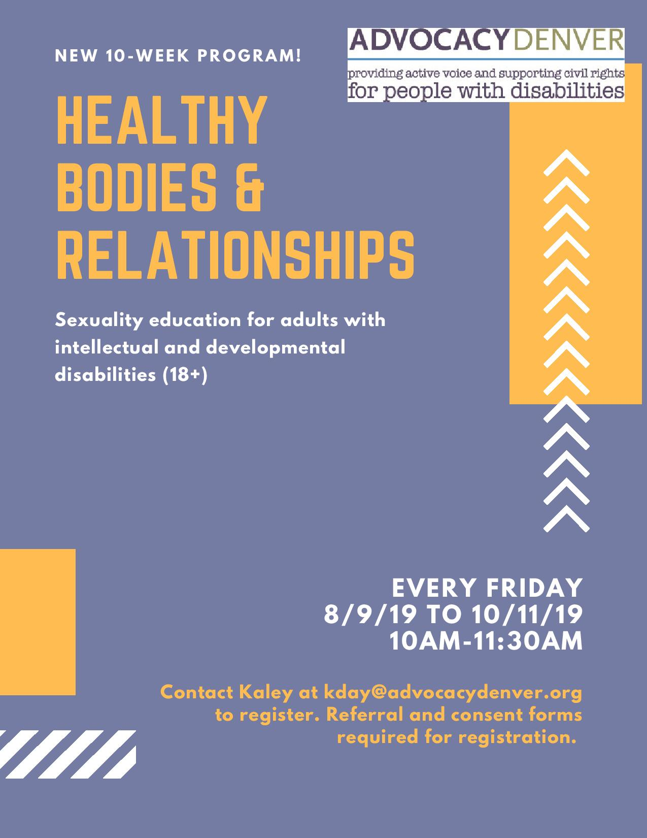 Healthy Bodies and Relationships