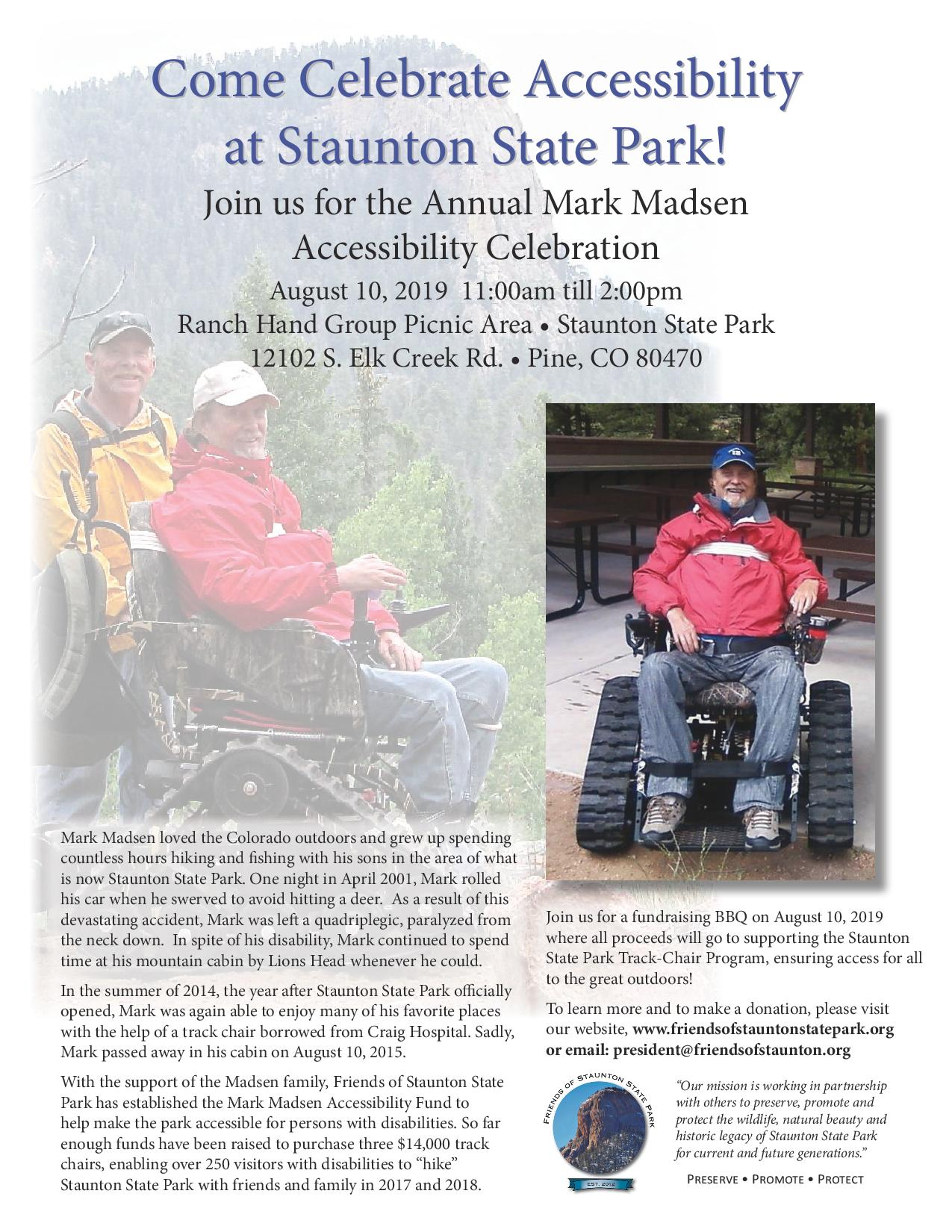 Annual Mark Madsen Accessibility Celebration